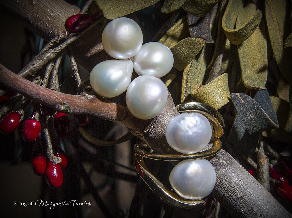 Racimo perlas