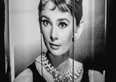 Biombo Audrey Hepburn