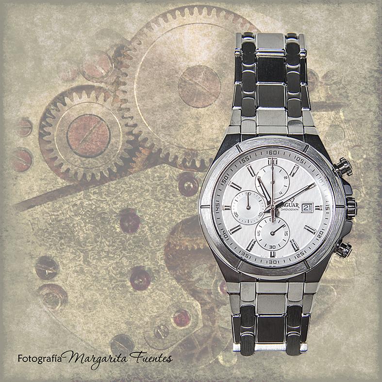 Reloj Jaguar de Acero