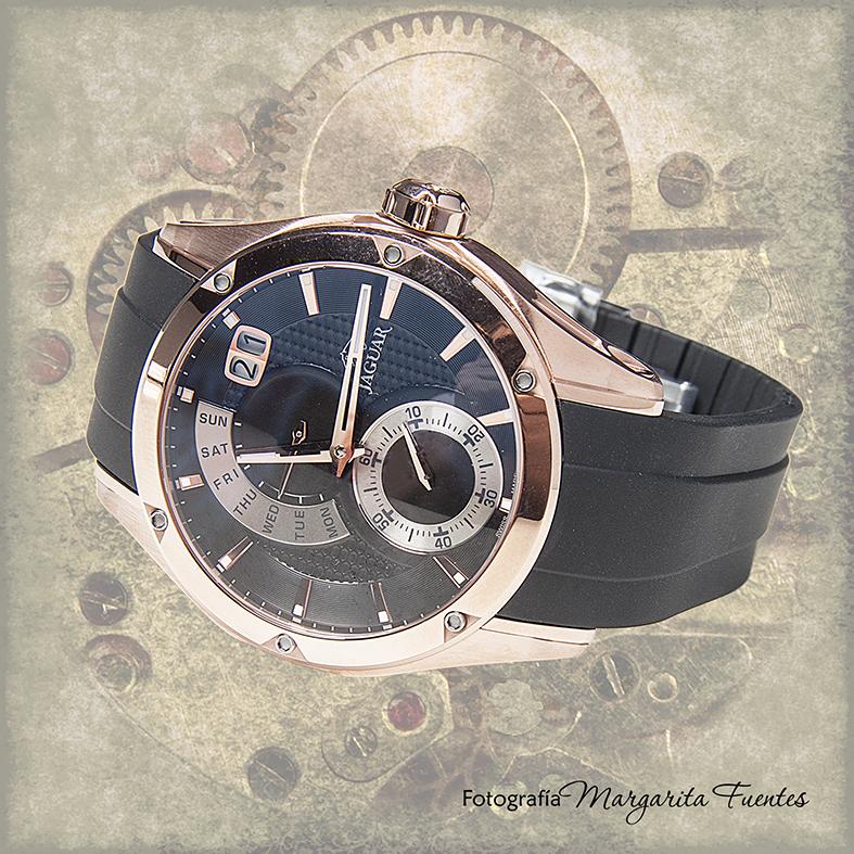 Reloj Jaguar de Caucho