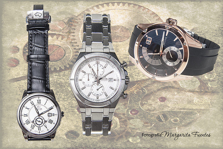 Conjunto relojes Jaguar