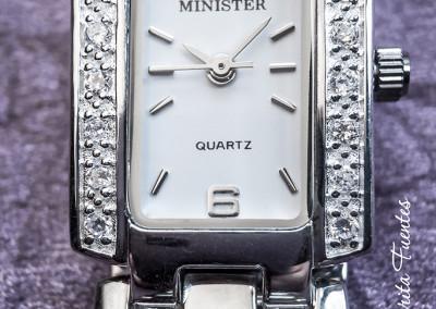 Reloj plata con circonitas 08