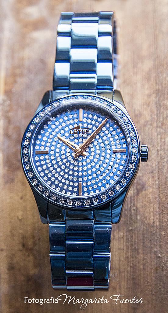 Reloj señora Festina azul