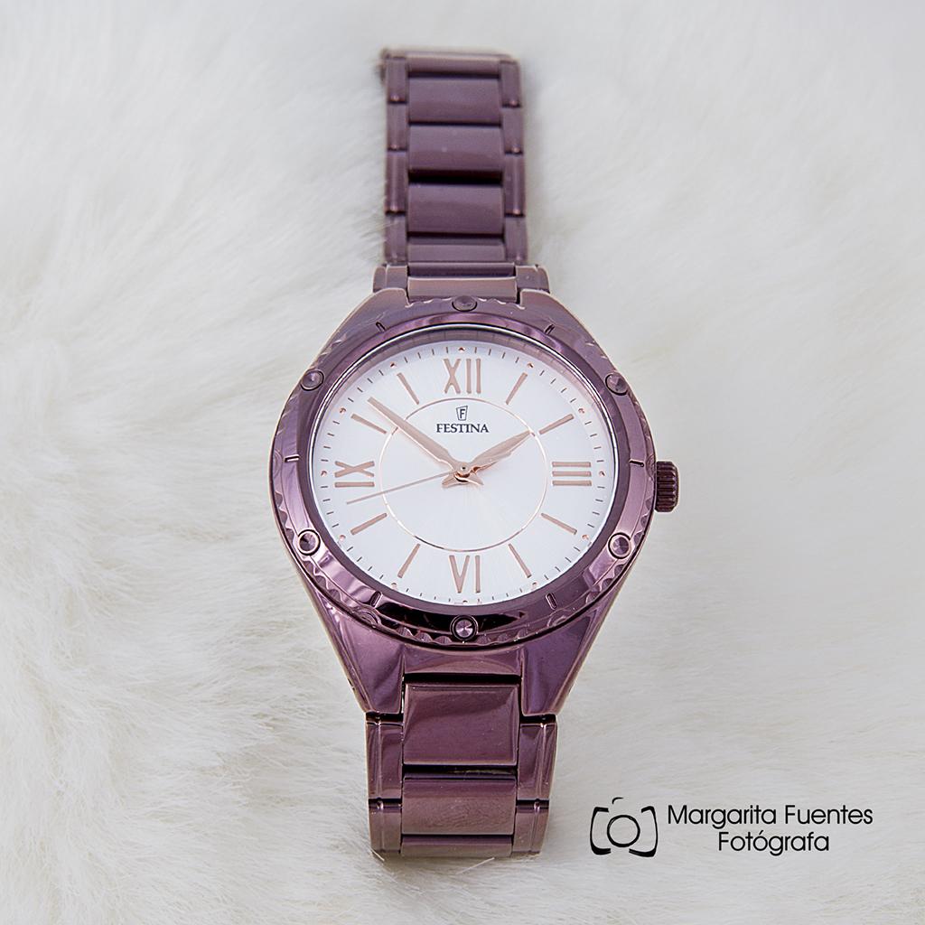 Reloj Festina Morado de Señora