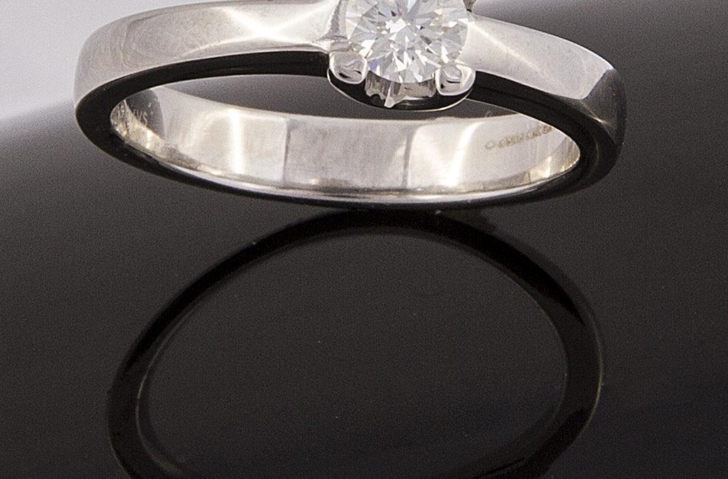 Diamante con Platino II