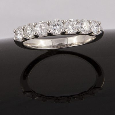 Solitario Platino y Diamantes 407612