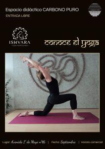 Yoga Isvara Puertollano espacio didactico