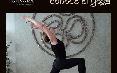 """Espacio didáctico """"Conoce el yoga de la mano de Ishvara Puertollano"""""""