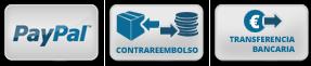 Métodos de Pago: PayPal, Contrareembolso y Transferencia Bancaria