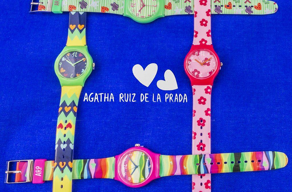 Relojes Ágatha Ruiz de la Prada
