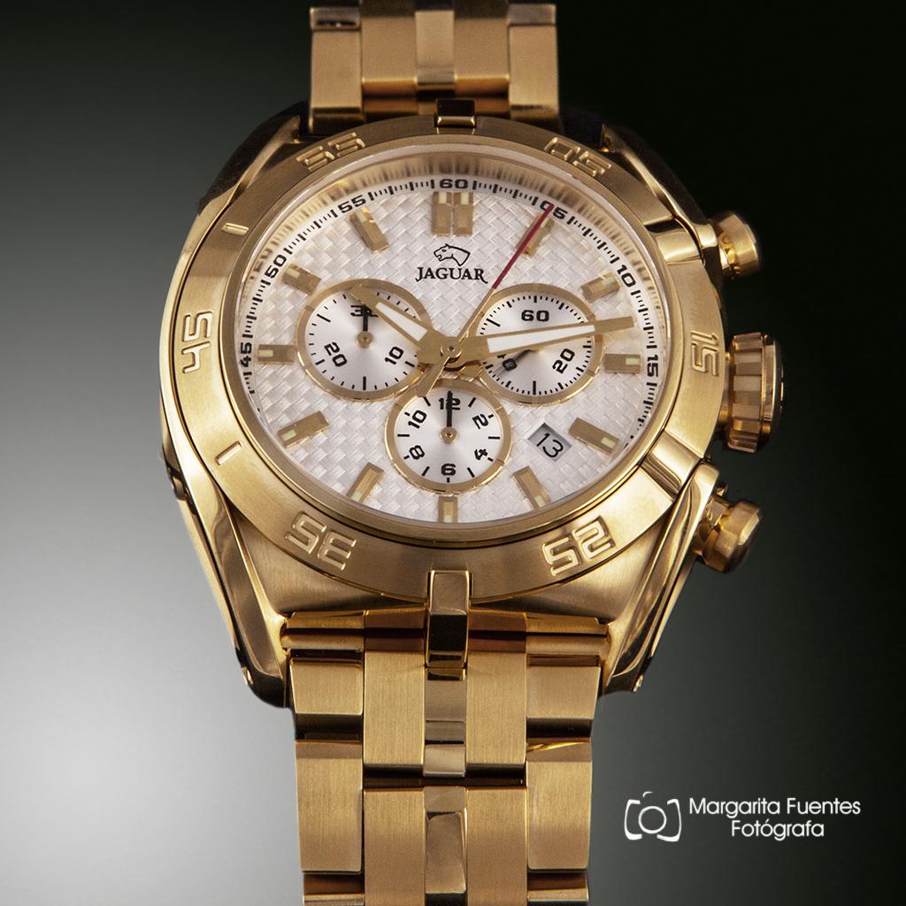 Reloj Jaguar executive chapado caballero