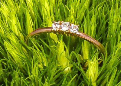 oro rosa anillo