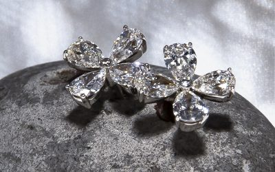 Diamantes talla pera