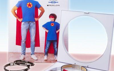 ¡Papá, eres mi héroe!