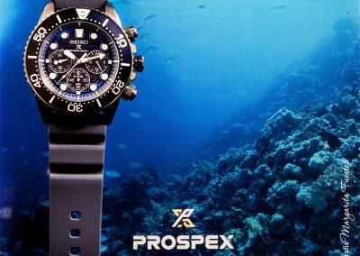 """Desde la profundidad """"Prospex Save the Ocean"""""""