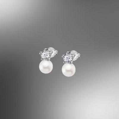 Pulsera Lotus Silver Pearls LP1800-4