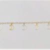 Pulsera Oro Amarillo con Colgantes 000080081