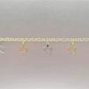 Pulsera Oro Amarillo con colgantes 000080092