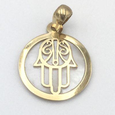 Colgante Mano de Fátima oro 51-15131