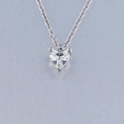 Colgante Oro Blanco Diamante 8152703263