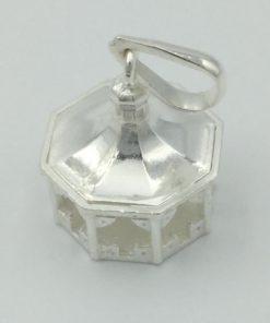 Medalla virgen de Gracia filigrana 2 plata, Patrona de