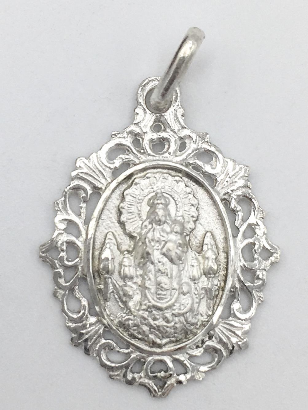 Medalla virgen de Gracia filigrana 2 plata