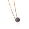 Collar Oro Rosa Diamante Black 0,095ct LECARRÉ GD073OR.BL