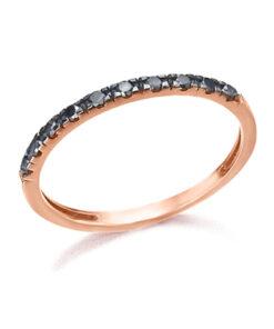 Media Alianza Oro Rosa Diamante Negro LECARRÉ GA007OR 13-BL